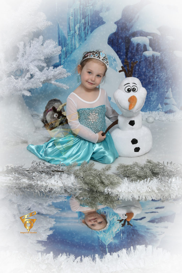 Frozen Themed Photoshoot