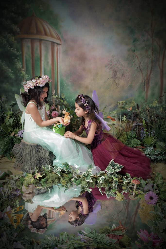 litle fairyies photoshoot